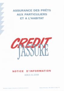 conditions générales assurance prêt immobilier crédit agricole