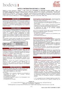 conditions générales generali assurance emprunteur