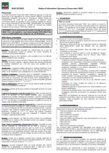 Assurance de pr t immobilier maif - Questionnaire sante pret immobilier ...