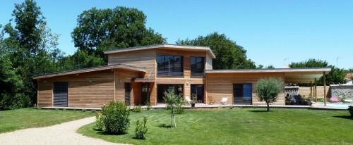 Crédit immobilier construire maison bois