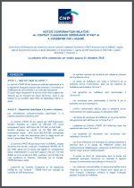 Conditions générales assurance dépendance CNRACL