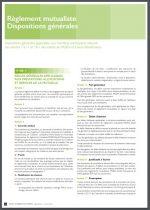 Conditions générales assurance dépendance MGEN