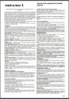 conditions generales assurance protection juridique credit du nord